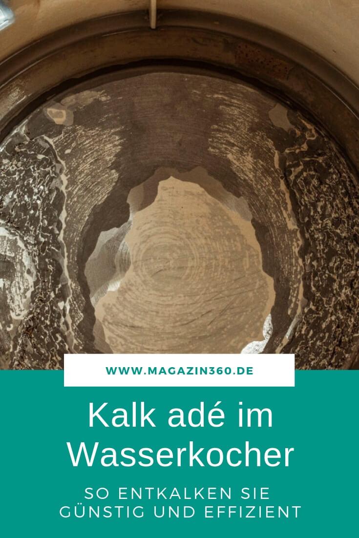 Kalk ade im Wasserkocher - So entkalken Sie günstig und effizient