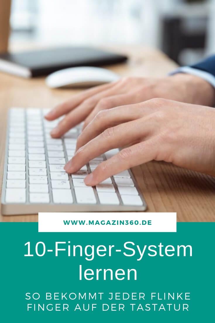 10 Finger System lernen - So bekommt jeder flinke Finger auf der Tastatur