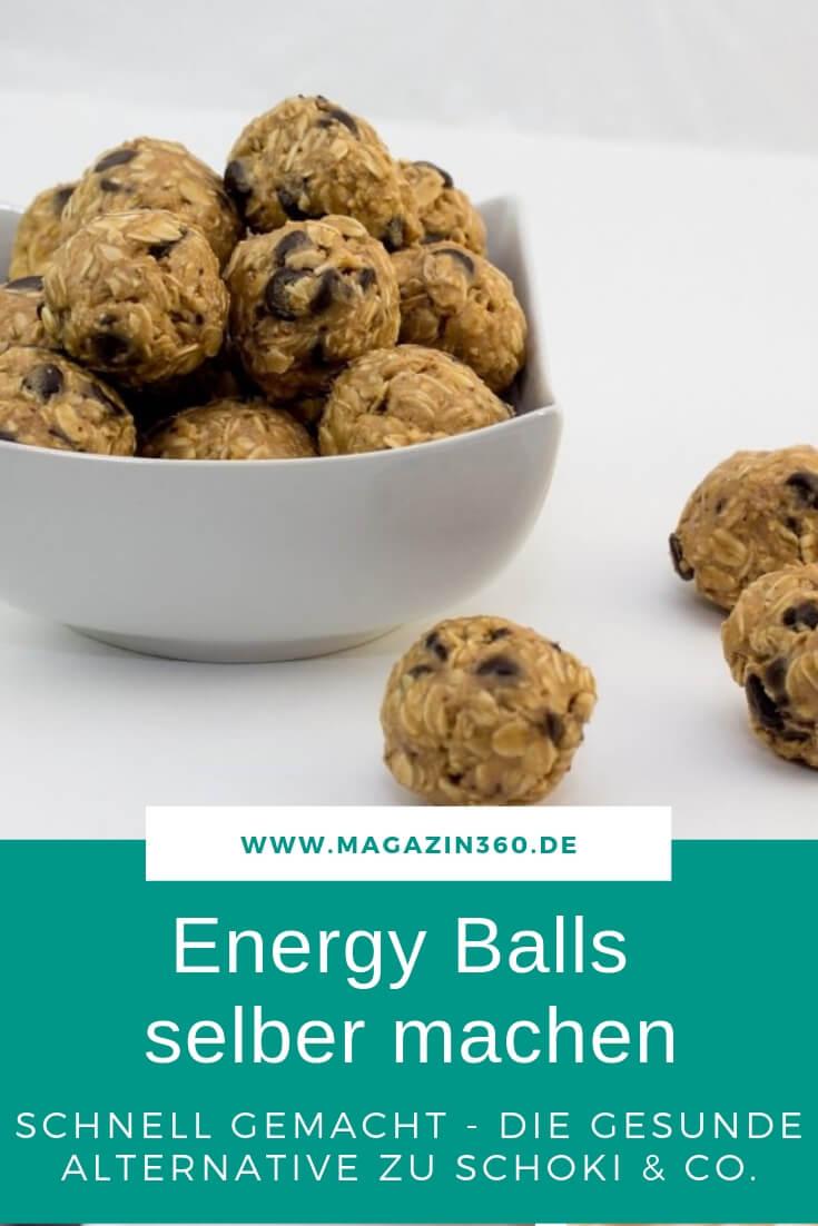 Energy Balls selber machen - Schnell gemacht, die gesunde Alternative zu Schokolade
