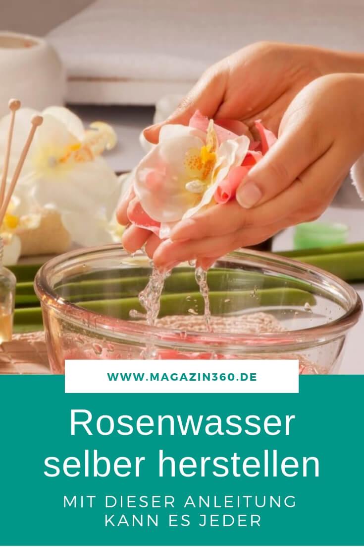Relativ Rosenwasser selbst herstellen ist nicht schwer - Eine Anleitung GK94