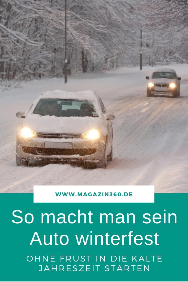 So macht man sein Auto winterfest - Ohne Frust in die kalte Jahreszeit starten