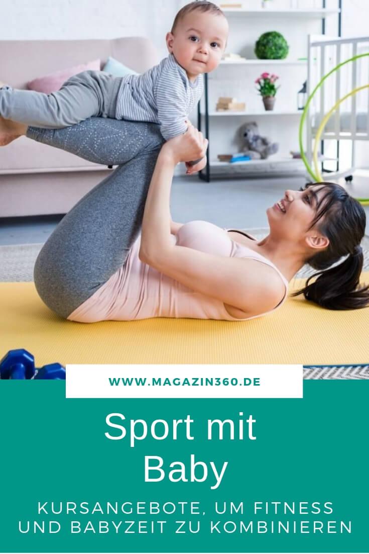 Sport mit Baby - Kursangebote, um Fitness und Babyzeit miteinander zu kombinieren