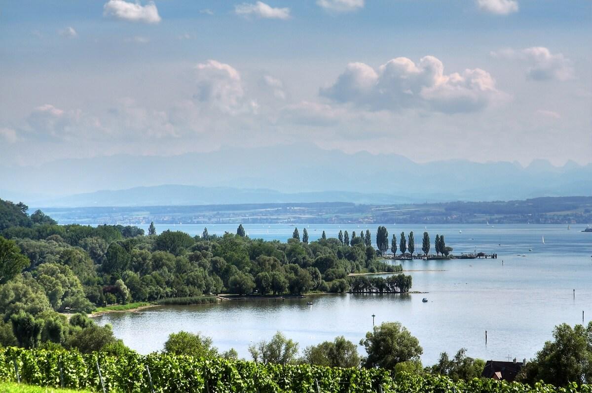 Für schöne Natur und tolles Wetter muss man das Land nicht verlassen, der Bodensee in Süddeutschland ist immer eine Reise wert
