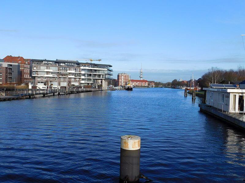 Blick auf den alten Binnenhafen