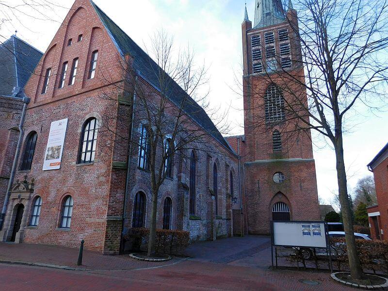 Die Große Kirche in der Emder Altstadt