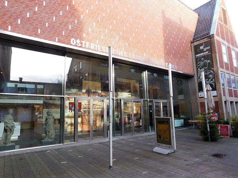 Eingangsbereich des Ostfriesischen Landesmuseum