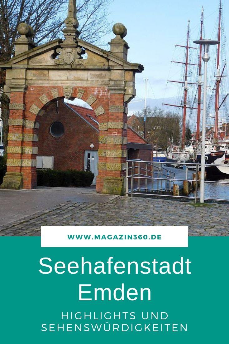 Sehenswürdigkeiten in Emden - Wir stellen die Highlights der größten Stadt in Ostfriesland vor