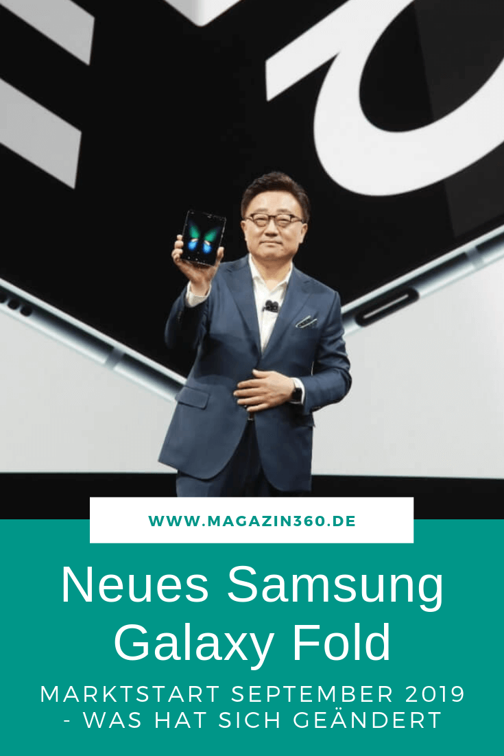Samsung bringt überarbeitetes Galaxy Fold auf den Markt - Was hat sich geändert