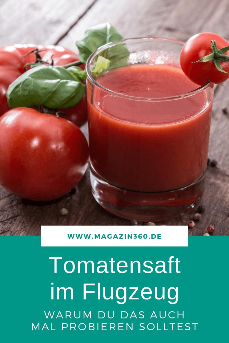 Tomatensaft im Flugzeug ist äußerst beliebt - Wir verraten, warum Du den Saft im Flieger auch mal probieren solltest