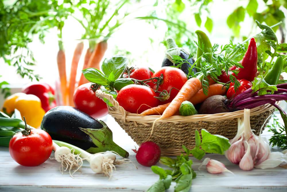 Gemüsesorten und Früchte sind in der Regel uneingeschränkt zu verzehren