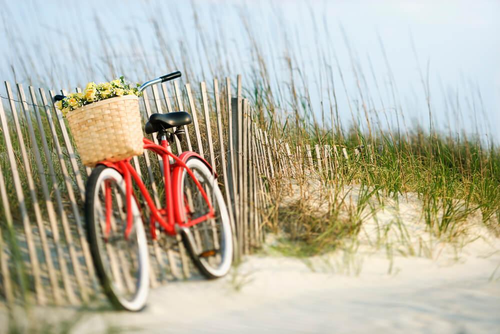 Das gut ausgebaute Radfahrnetz bietet täglich neue Erlebnisse