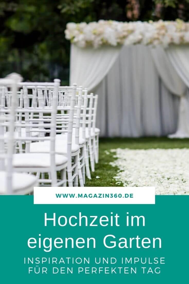 Hochzeit im eigenen Garten - Impulse und Inspiration