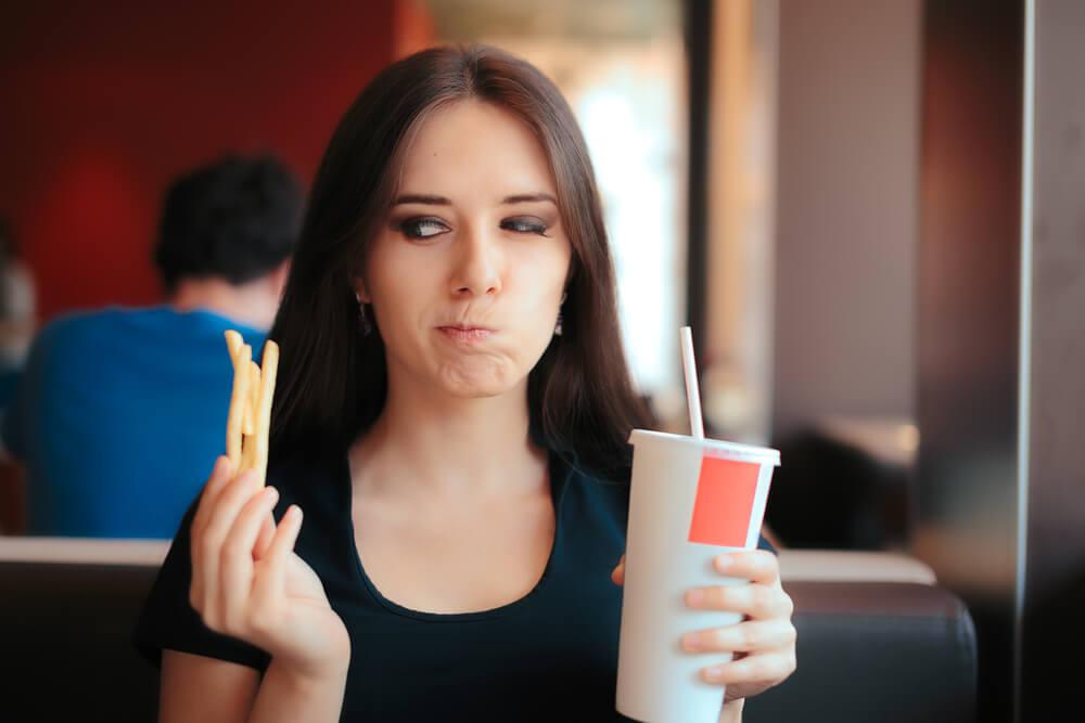 Bei einem Cheat Day wird im Allgemeinen gegessen, worauf man gerade Lust hat