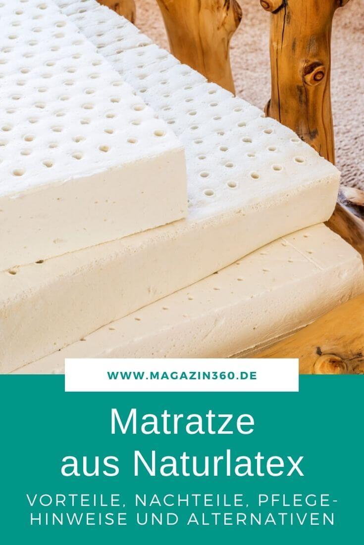 Matratze aus Naturlatex - Vorteile, Nachteile Pflegehinweise und Alternativen für einen erholsamen Schlaf