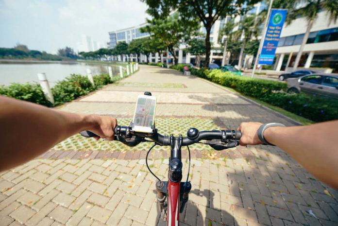 Zur Navigation auf dem Fahrrad stehen verschiedene Möglichkeiten zur Verfügung